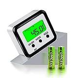 FOLAI Digitaler LCD Winkelmesser Neigungsmesser Inklinometer Wasserdicht Bevel Box Winkelmessgerät...