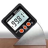 AUTOUTLET Digitaler Neigungsmesser Winkelmesser LCD Winkelsucher Bevel Box Winkelmessgerät mit...