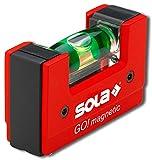 Sola GO! magnetic - Mini-Wasserwaage magnetisch aus glasfaserverstärktem Kunststoff - Sola...
