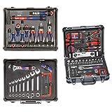kwb Werkzeug-Koffer inkl. Werkzeug-Set, 129-teilig, gefüllt, robust und hochwertig, ideal für den...