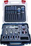 Bosch Professional Profi Handwerker-Set (Schraubendreher, Zangen, Maßband, Wasserwaage,...