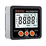 Digitaler Neigungsmesser Proster Digitaler Winkelmesser LCD-Hintergrundbeleuchtung IP54 Wasserdicht...