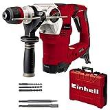 Einhell 4257944 Bohrhammer TE-RH 32 4F Kit (1250 W, 5 Joule, 32 mm Bohrleistung in Beton, SDS-Plus,...