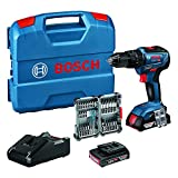 Bosch Professional 18V System Akku Schlagbohrschrauber GSB 18V-55 (max. Drehmoment 55 Nm, inkl....
