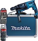 Makita HR2631FT13 Kombihammer für SDS-PLUS 26 mm im Alukoffer