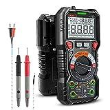 KAIWEETS Digital Multimeter mit LED-Buchsen, Strommessgerät CAT III 1000 V, CAT IV 600 V True RMS...