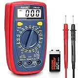 AstroAI Digital Multimeter mit Ohm Volt Ampere Spannung Tester Messung von AC/DC Spannung, DC Strom,...