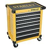 Stanley FatMax Werkstattwagen / Werkzeugwagen, Transmodul-System (mit 7 Schubladen, 2 Schlüsseln,...