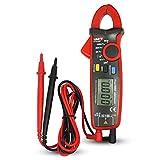UNI-T UT210E Digitale Strommesszange Amperemeter Voltmeter Vollautomatisch AC DC Multimeter Zange...