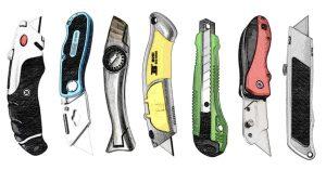 Die besten Cuttermesser - Bosch, Fiskars, Stanley