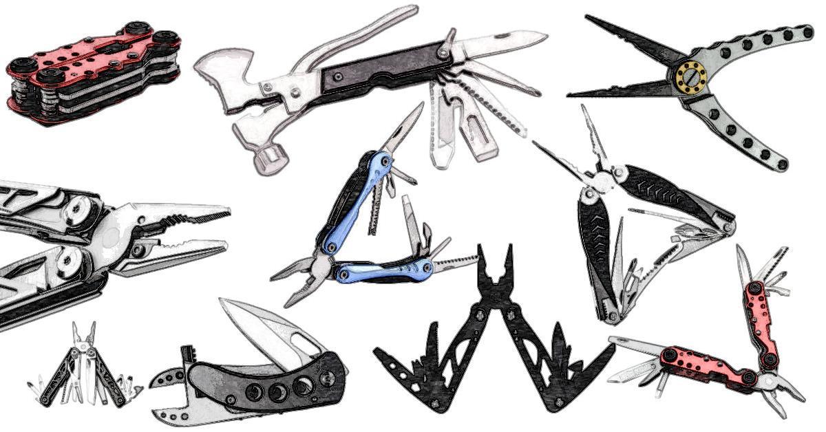 Die besten Leatherman Tools und Victor Inox Schweizer Taschenmesser
