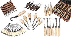 Schnitzmesser von Kirschen und Stubai