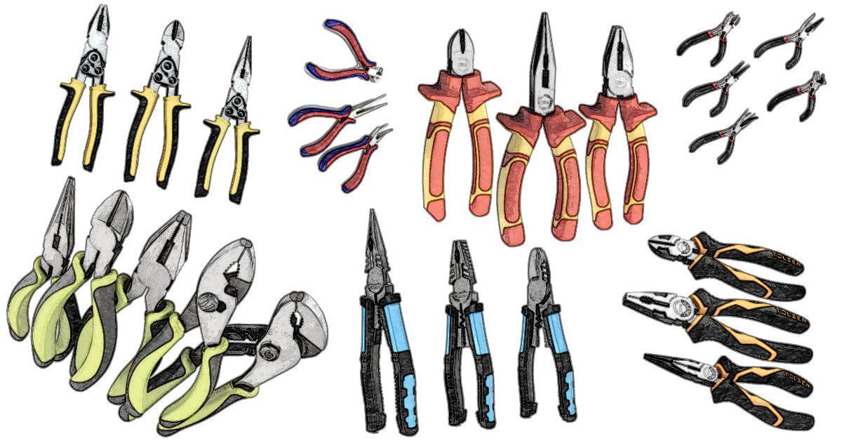 Die besten Zangensets - Knipex, Wiha, Bosch, Hazet